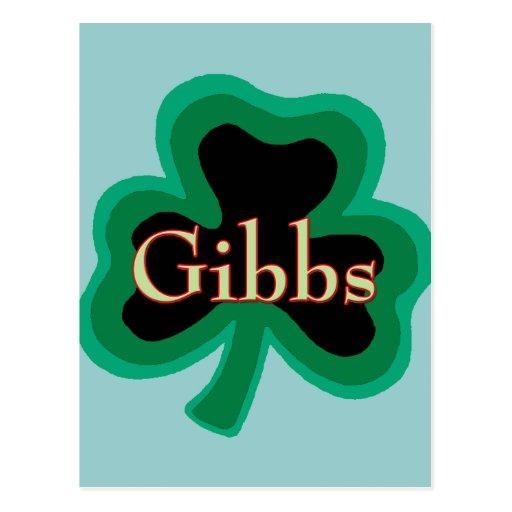 Gibbs Family Post Card