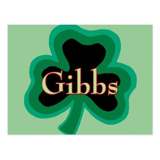 Gibbs Family Postcards