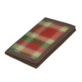 Gibbs/Gibson Tartan Tri-fold Wallet