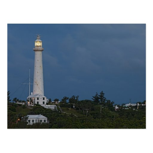 Gibbs Hill Lighthouse at Dawn Postcard