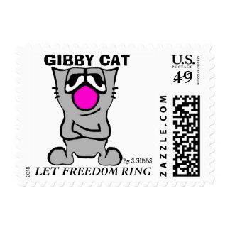Gibby Cat, Patriotic, 1st Class 1 oz Postage,
