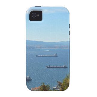 Gibraltar Anchorage desde arriba iPhone 4/4S Carcasa