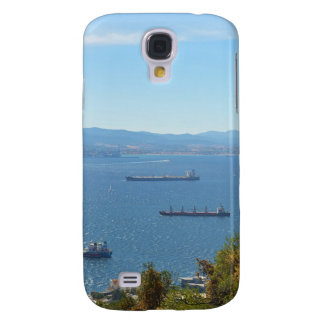 Gibraltar Anchorage desde arriba Funda Para Samsung Galaxy S4