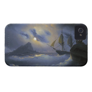 Gibraltar by Night Ivan Aivasovsky seascape waters Case-Mate iPhone 4 Case