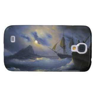 Gibraltar by Night Ivan Aivasovsky seascape waters Samsung Galaxy S4 Covers