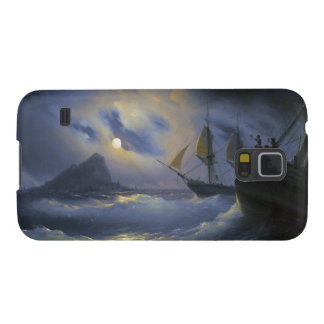 Gibraltar by Night Ivan Aivasovsky seascape waters Cases For Galaxy S5