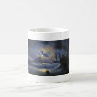 Gibraltar by Night Ivan Aivasovsky seascape waters Coffee Mug