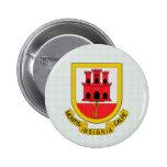 Gibraltar Coat of Arms detail Pinback Buttons