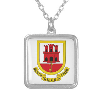 Gibraltar Coat of Arms Pendant