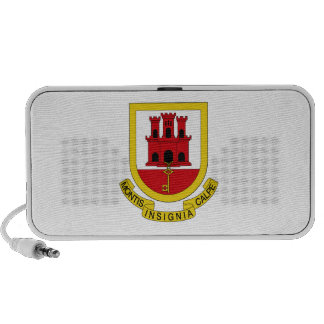 Gibraltar Coat of Arms iPod Speakers
