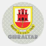 Gibraltar Coat of Arms Sticker