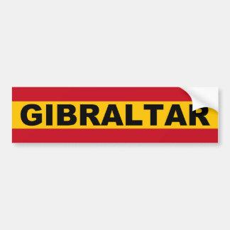 Gibraltar Espanol Bumper Sticker