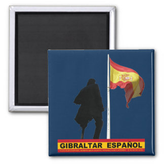 Gibraltar Español Magnet
