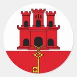Gibraltar Etiqueta Redonda