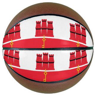 Gibraltar Flag Basketball