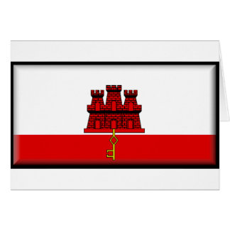 Gibraltar Flag Card