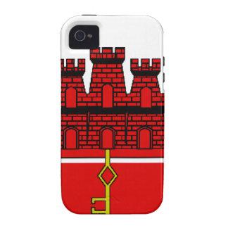 Gibraltar Flag iPhone 4 Cases