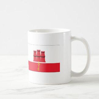 Gibraltar Flag Coffee Mug