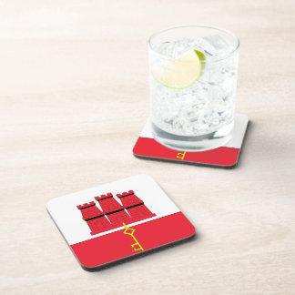 Gibraltar Flag Drink Coaster
