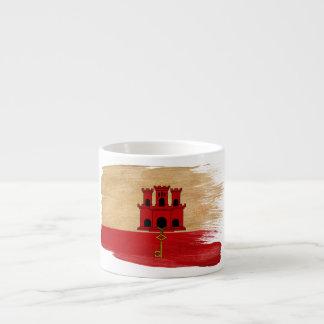 Gibraltar Flag Espresso Cup