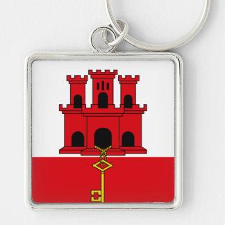 Gibraltar Flag  GI Keychain