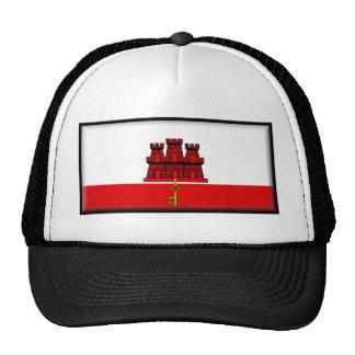 Gibraltar Flag Mesh Hats