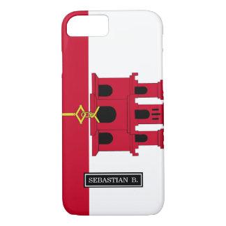 Gibraltar flag iPhone 8/7 case