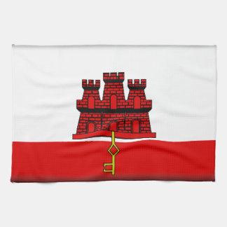 Gibraltar Flag Towel