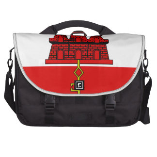 Gibraltar Flag Commuter Bag