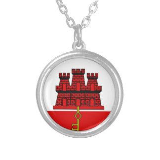Gibraltar Flag Necklaces