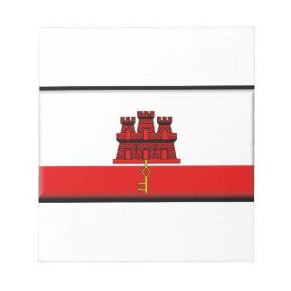 Gibraltar Flag Note Pads