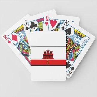 Gibraltar Flag Poker Deck