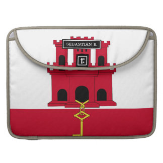 Gibraltar flag sleeve for MacBook pro