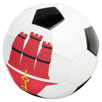 Gibraltar Flag Soccer Ball