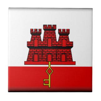 Gibraltar Flag Tiles