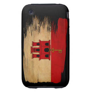 Gibraltar Flag Tough iPhone 3 Covers