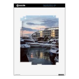 Gibraltar - Ocean Village 1 (K.Turnbull Art) Decal For iPad 2