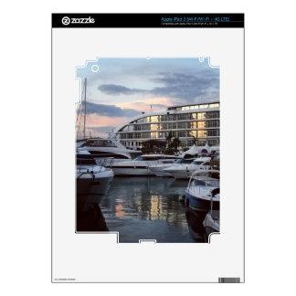 Gibraltar - Ocean Village (K.Turnbull Art) iPad 3 Decals