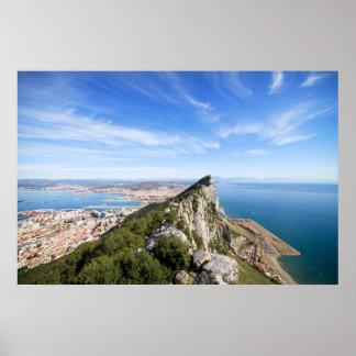 Gibraltar Rock Poster