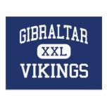 Gibraltar Vikings Middle Fish Creek Postcards