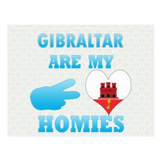 Gibraltareños son mi Homies Tarjeta Postal