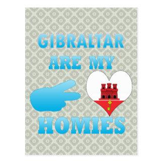 Gibraltareños son mi Homies Postales