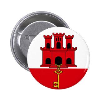 Gibraltarian flag button