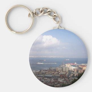 Gibralter Bay Keychain