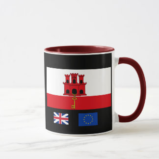 Gibralter Coffee/Tea Mug    / Taza Cafe Gibraltar