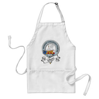Gibson Clan Badge Adult Apron
