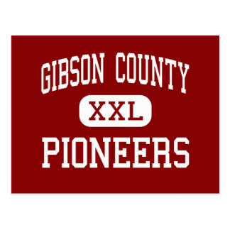 Gibson County - Pioneers - High - Dyer Tennessee Postcard