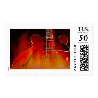 Gibson ES-335 On Fire Postage