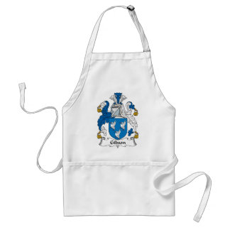 Gibson Family Crest Adult Apron