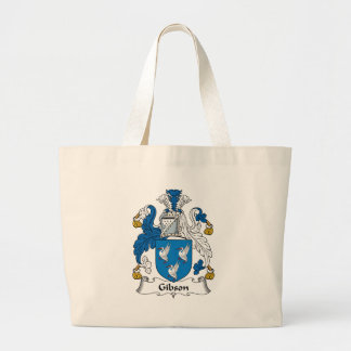 Gibson Family Crest Canvas Bags